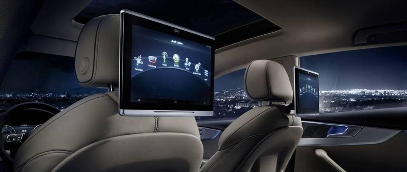 audi rear seat entertainment infotainment und. Black Bedroom Furniture Sets. Home Design Ideas