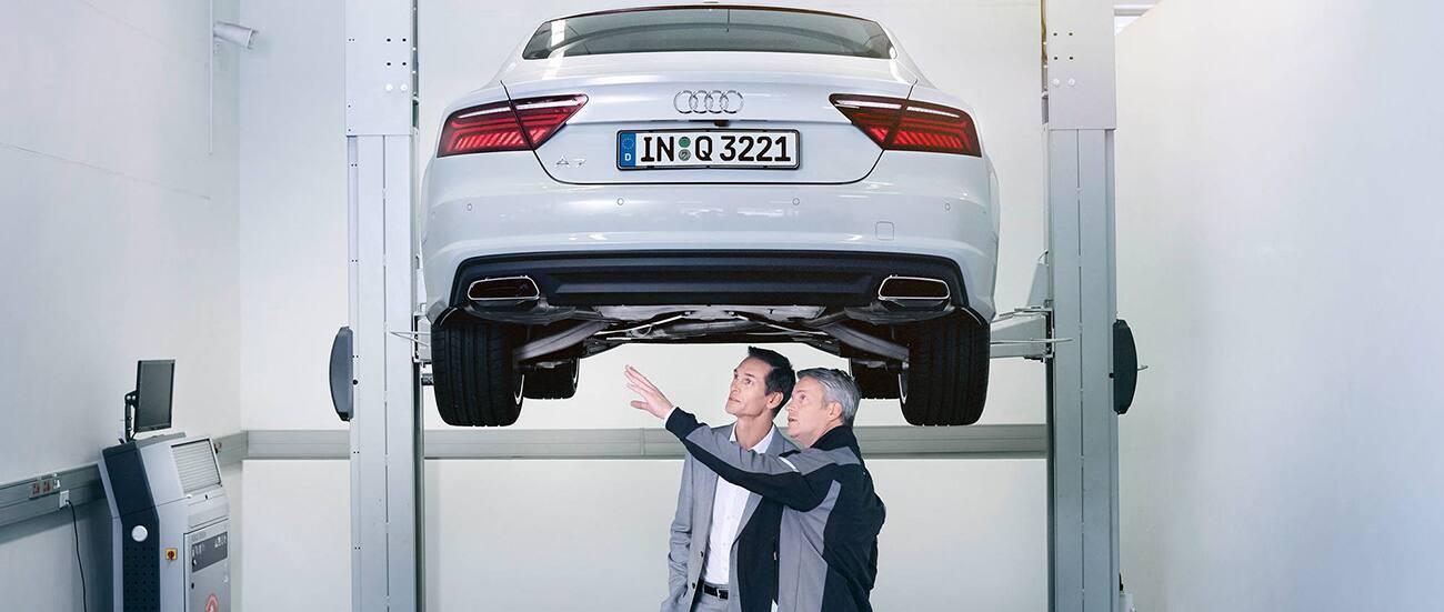 Audi Wartung Audi Service Reparatur Und Service Audi Deutschland