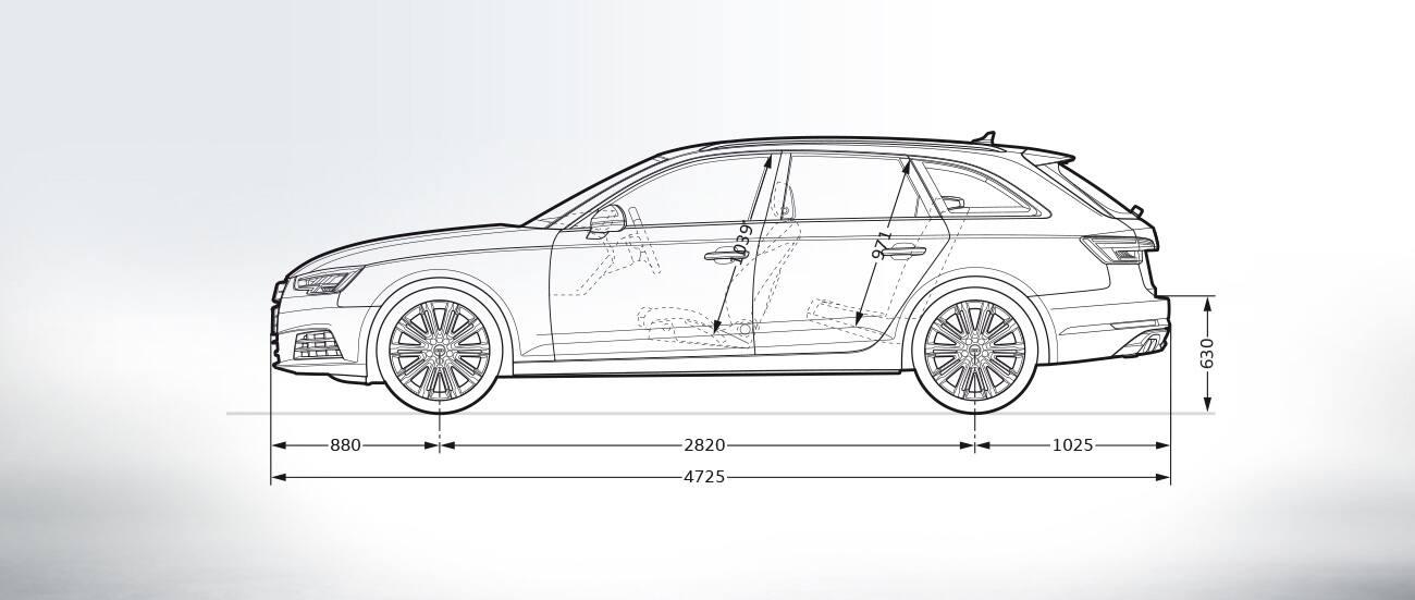Seitenansicht Gt A4 Avant 2018 Gt A4 Gt Audi Deutschland