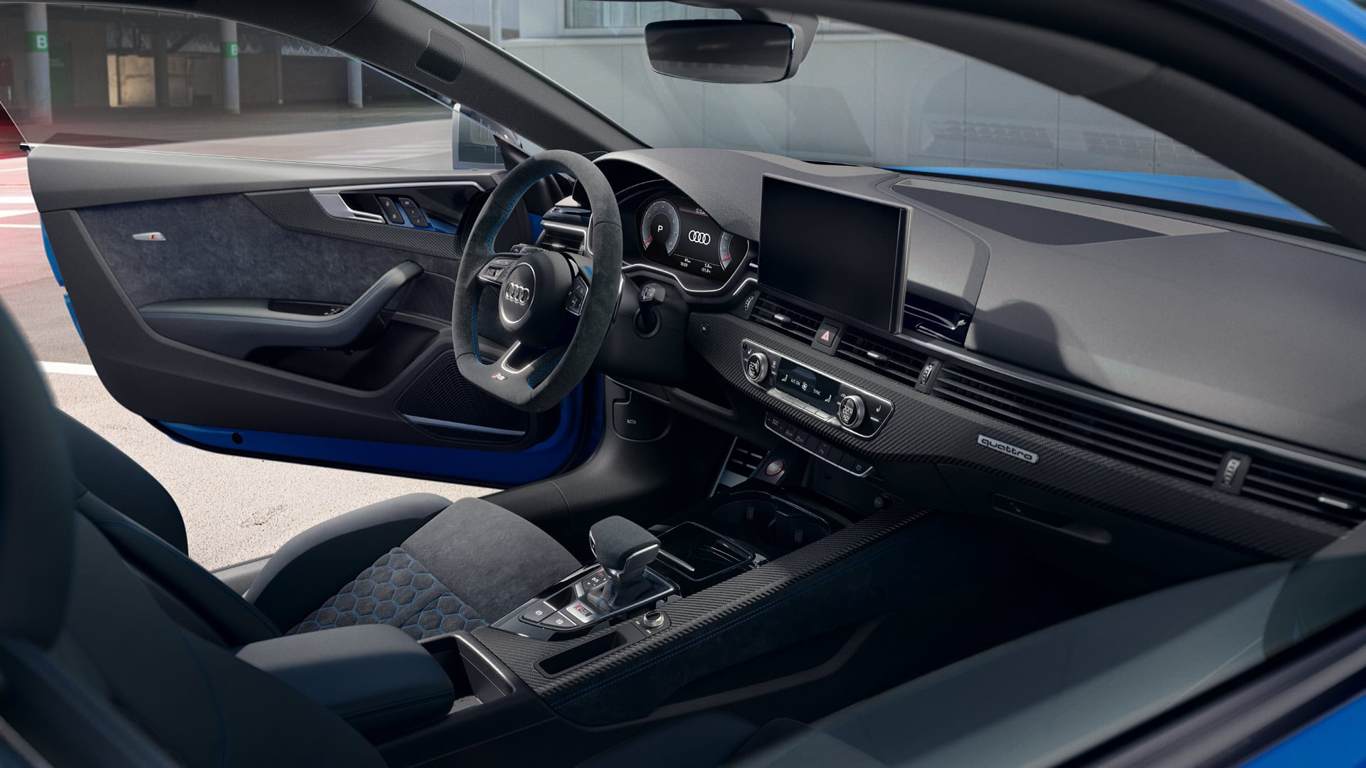 Interieur Audi RS 5 Sportback 25 years