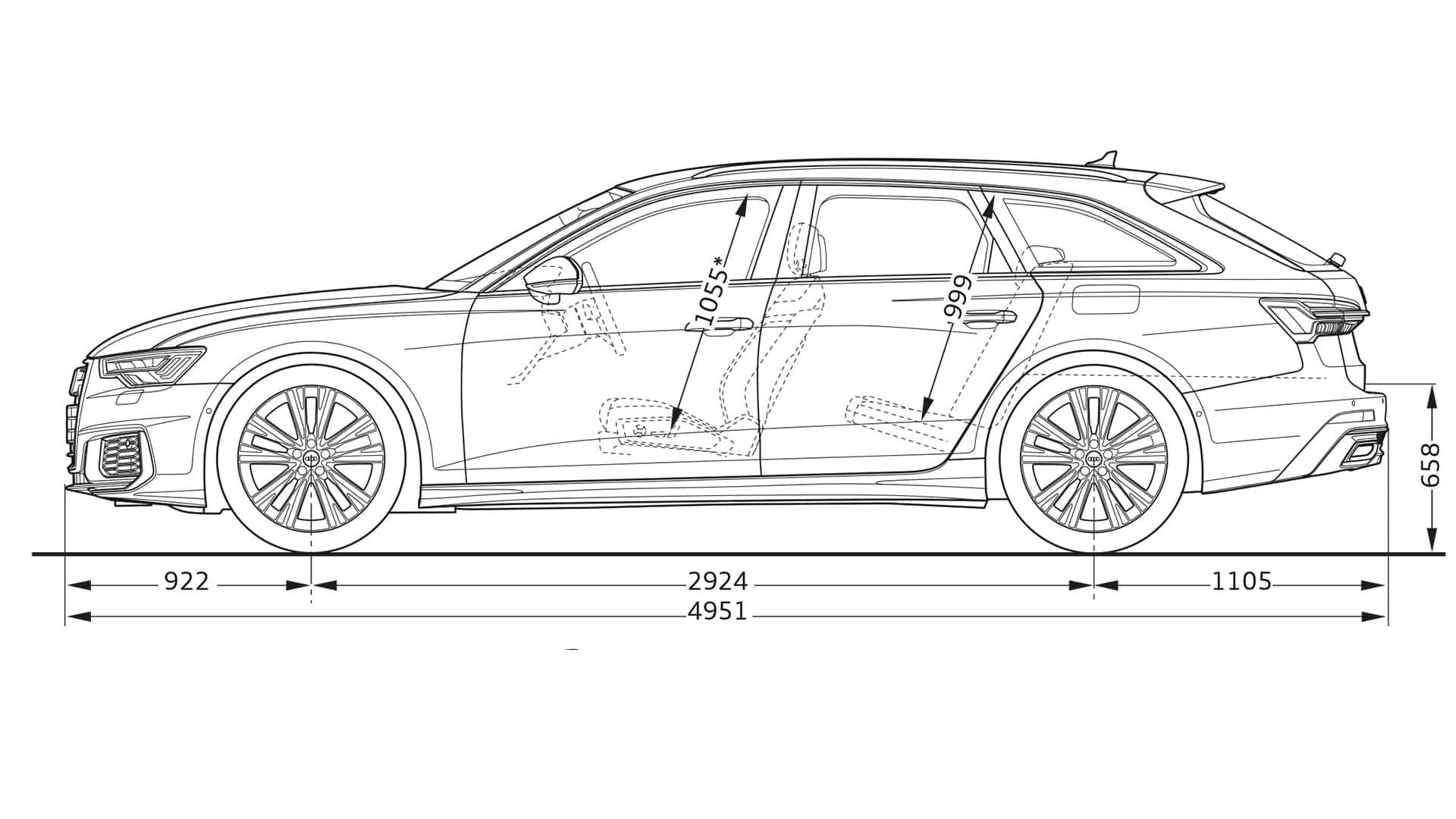layer-dimension > A6 Avant TFSI e > A6 > Audi Deutschland