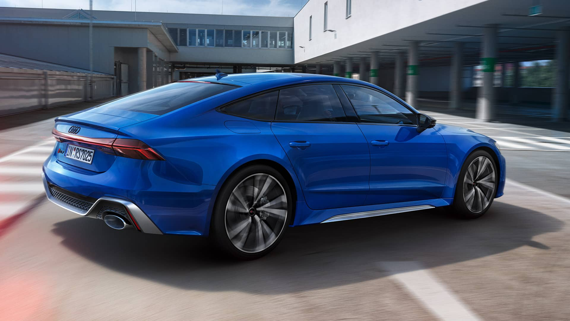 Exterieur Audi RS 7 Sportback 25 years