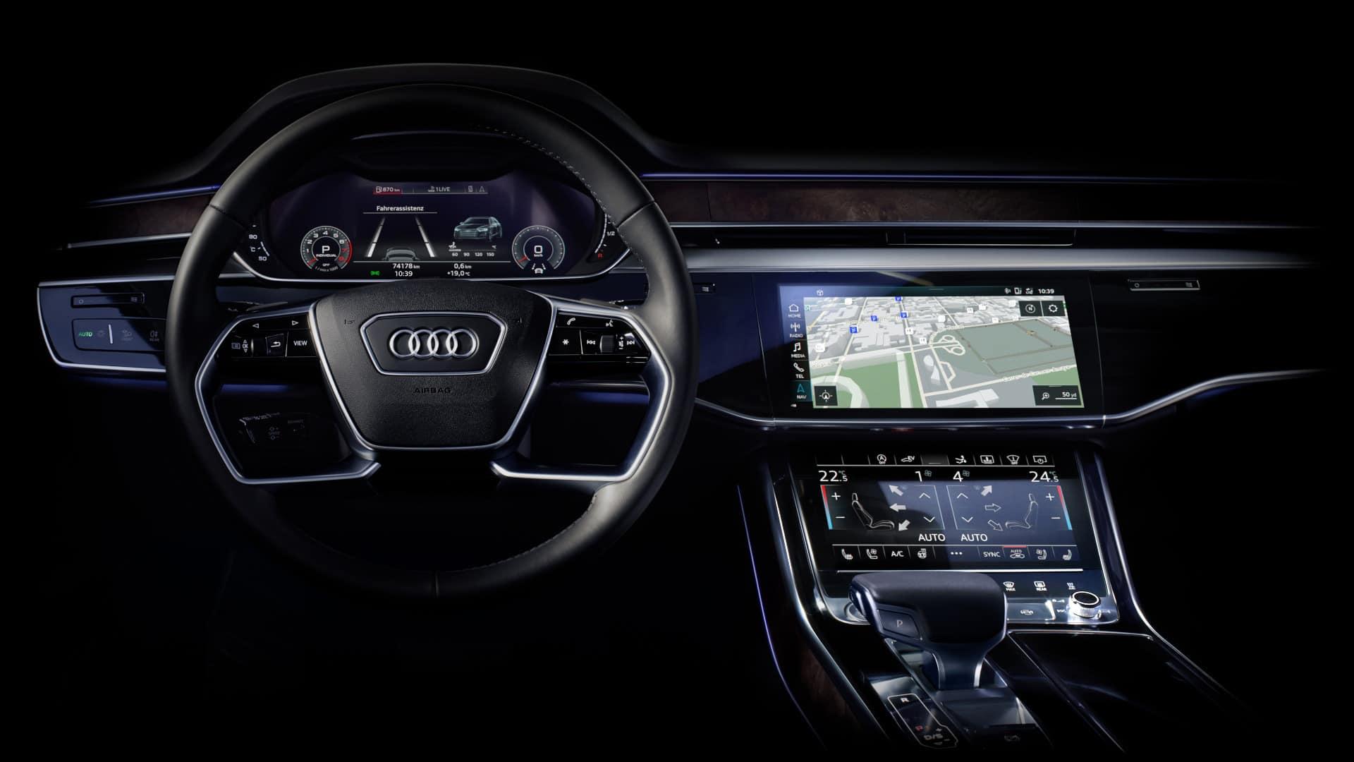 3D Citymodelle ermöglichen Navigation der nächsten Generation im neuen Audi A8 L