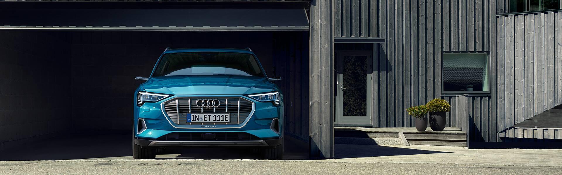 E Tron Im Alltag Audi Tron Audi Deutschland