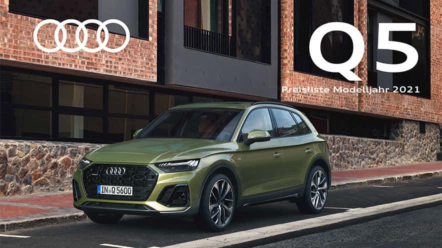Preisliste Q5 Q5 Audi Deutschland