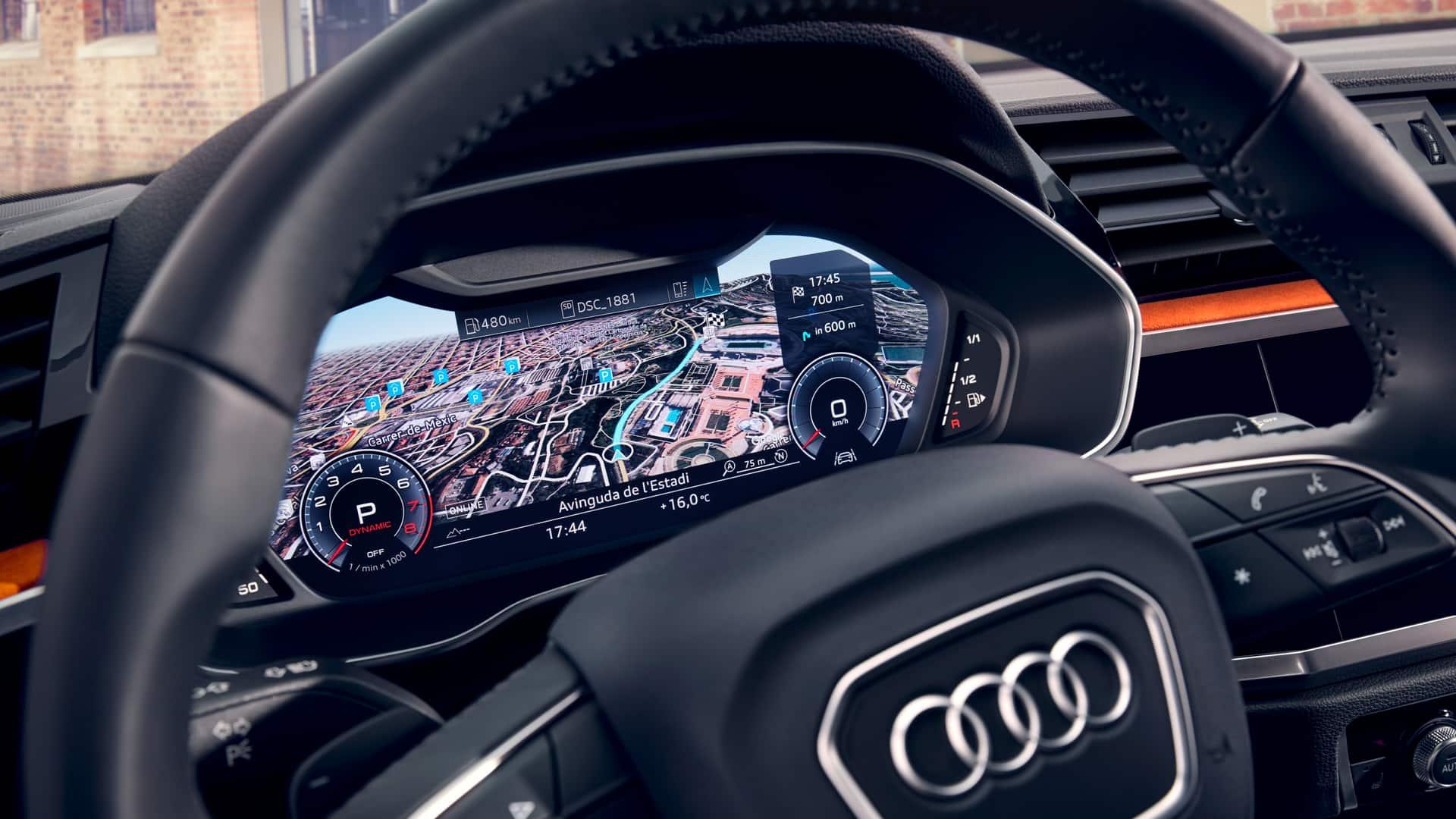 im optionalen audi virtual cockpit erhalten sie viele informationen gestochen scharf auf einen blick