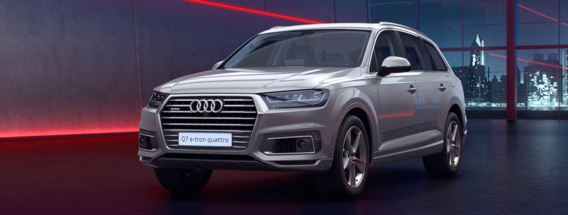 Audi q7 etron quattro technische daten 13