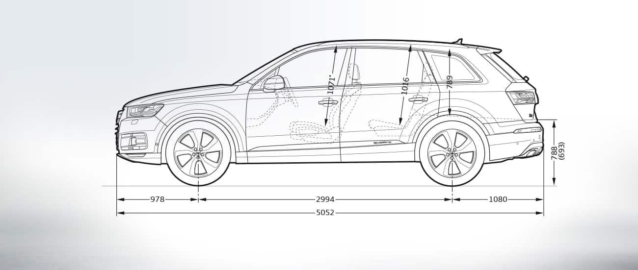 Seitenansicht Gt Q7 Gt Q7 Gt Audi Deutschland