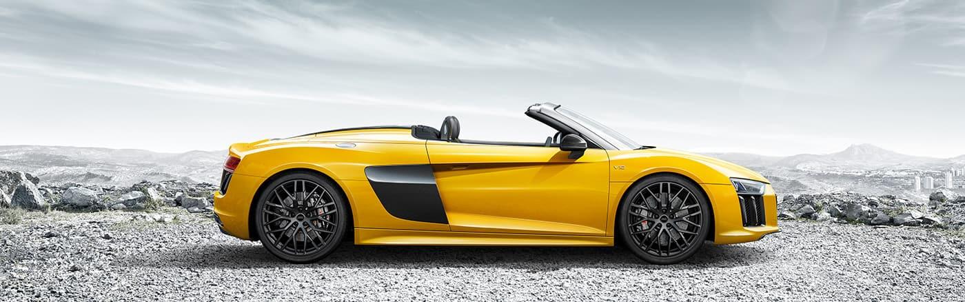 R8 Spyder V10 > Audi Deutschland