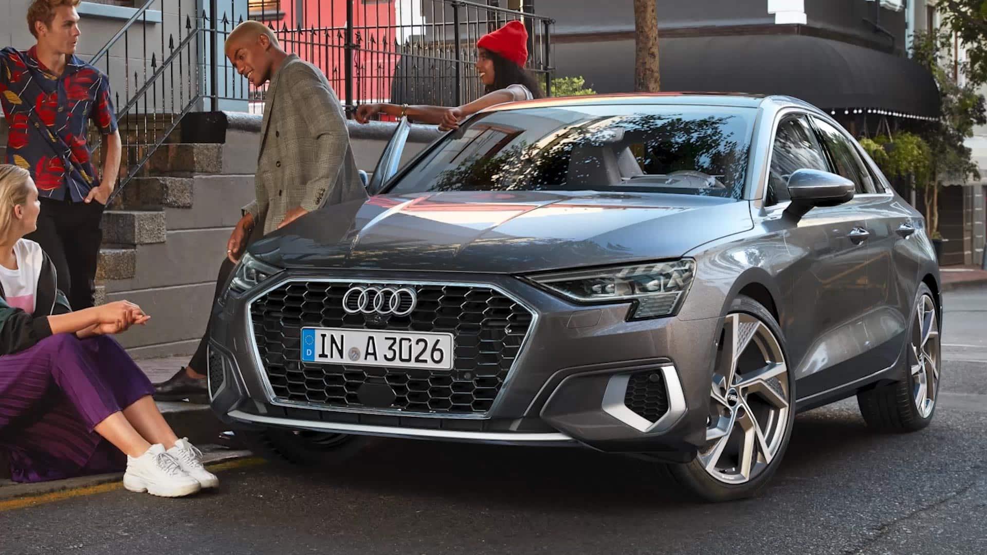 2020 Audi A3 Spy Shoot