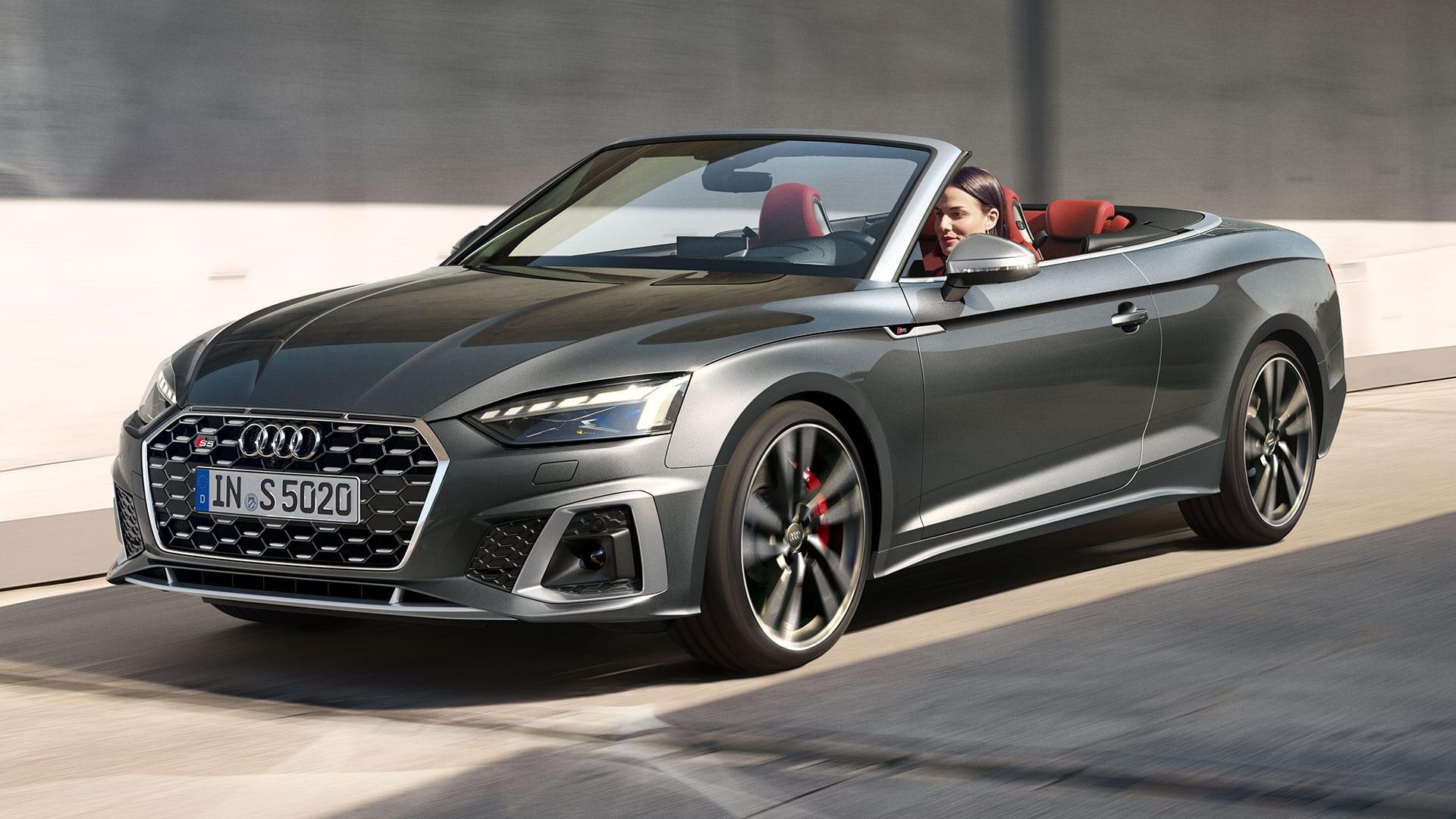 2020 Audi S5 Cabriolet Spy Shoot